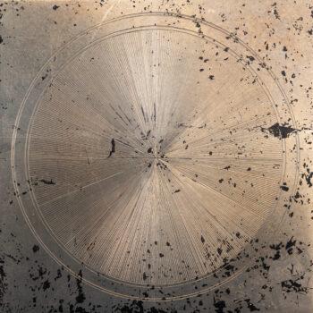 錫の不定形静物 1